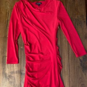 Juicy Couture bodycon red dress